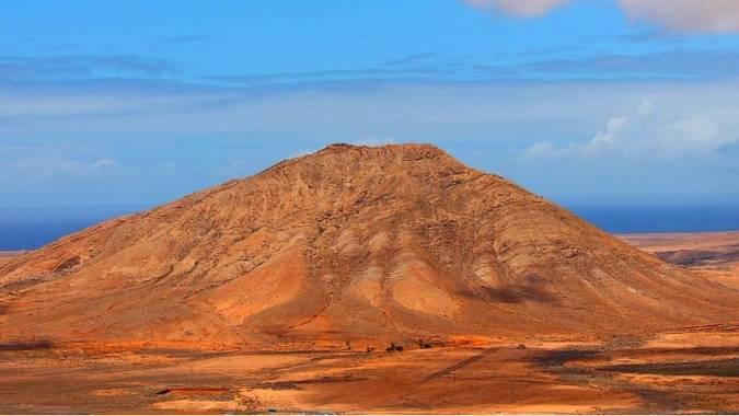 La Montaña Sagrada de Tindaya, en Fuerteventura