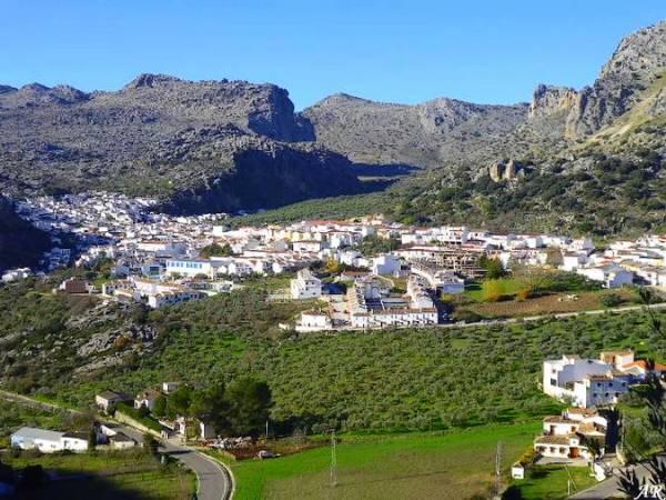 Montejaque, en la malagueña serranía de Ronda