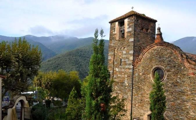 Iglesia de Sant Julià, en Montseny, Barcelona