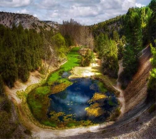 Monumento Natural de La Fuentona, en Soria