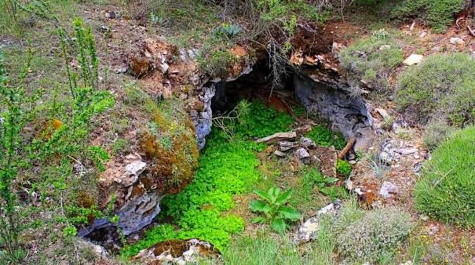 Monumento Natural Serrezuela de Valsalobre, en Cuenca