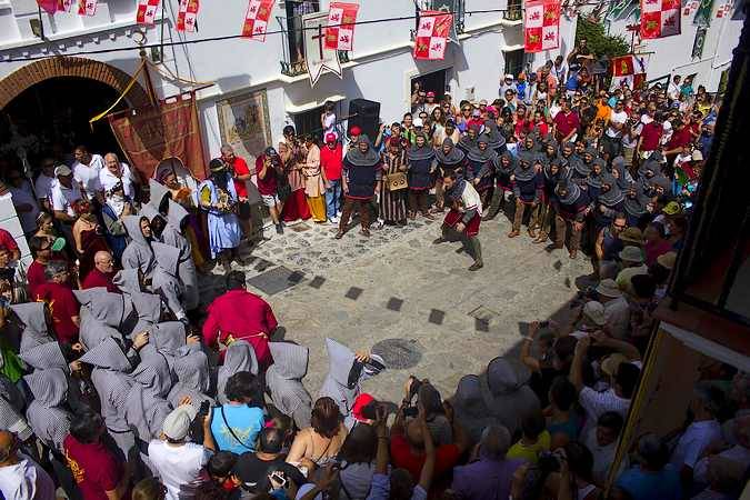 Fiesta de Moros y Cristianos en la Sierra de Cádiz
