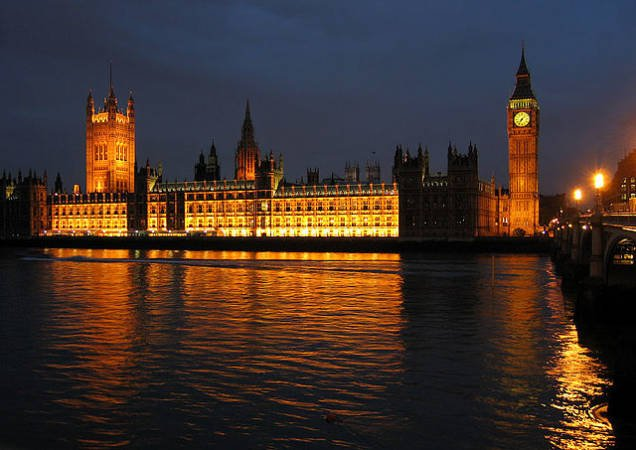 Westminster, en Londres, centro del poder de Inglaterra