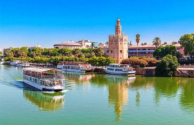Crucero por el Guadalquivir, en Sevilla