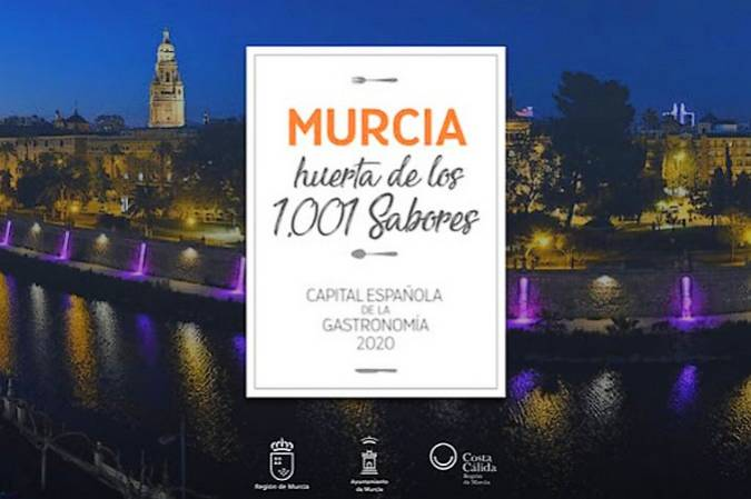 La Región de Murcia elegida Capital de la Gastronomía 2020