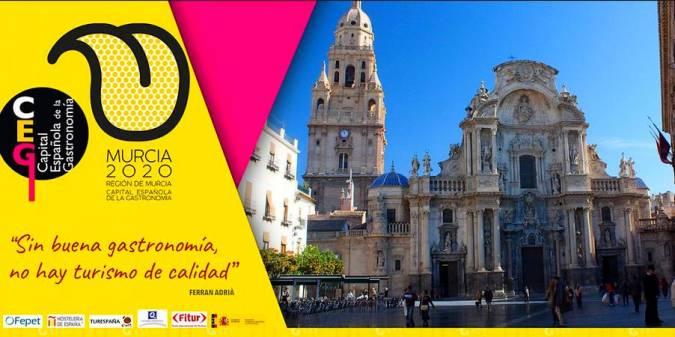 La Región de Murcia, Capital Española de la Gastronomía 2020
