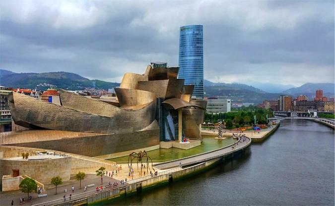 El Museo Guggenheim, en Bilbao