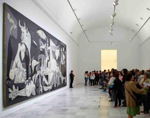 El Guernika de Picasso, en el Museo Reina Sofía