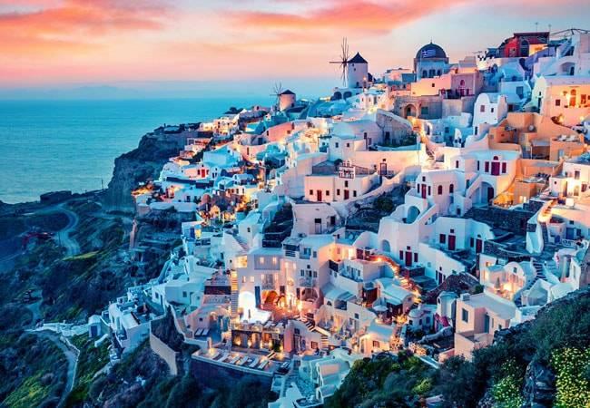 Descubre la isla de Santorini