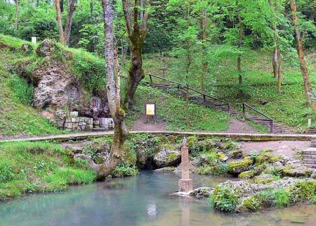 El Nacimiento del río Ebro, en Cantabria