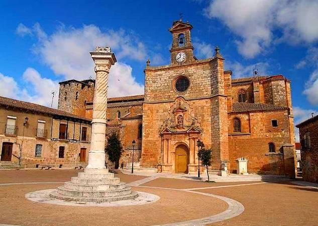 La villa medieval de Nahamud, en Burgos