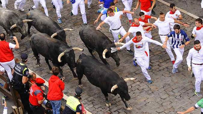 Sanfermines de Pamplona, en Navarra