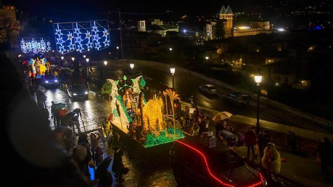 Cabalgata de Reyes en Toledo