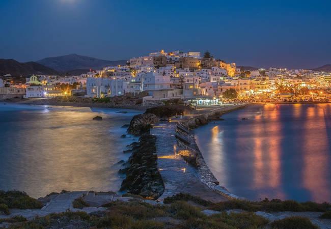 La noche en la isla de Naxos