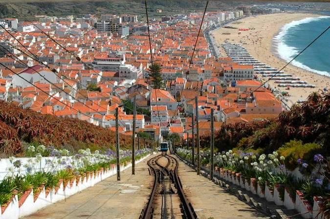 Nazaré, en Portugal
