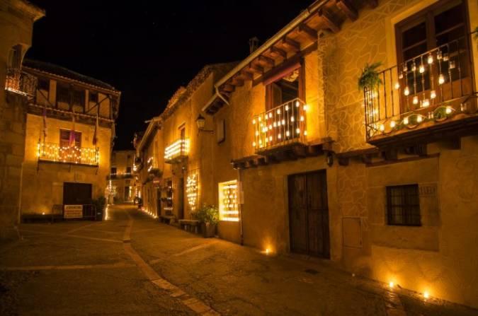 Plan mágico en Pedraza: noche de las velas
