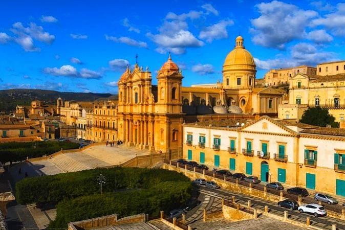 La ciudad barroca de Noto, en Sicilia