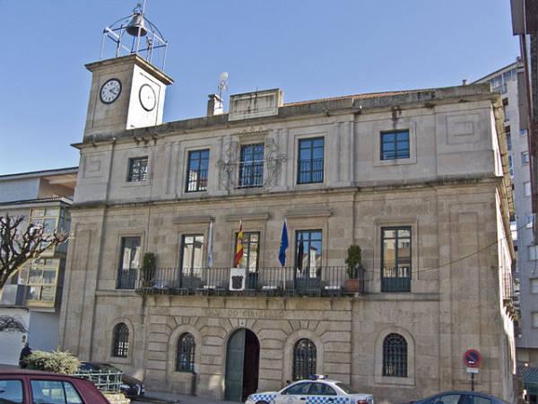 Ayuntamiento de O Carballiño, en Ourense, Galicia
