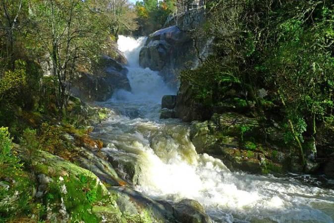 Entorno natural de O Carballiño, en Ourense, Galicia