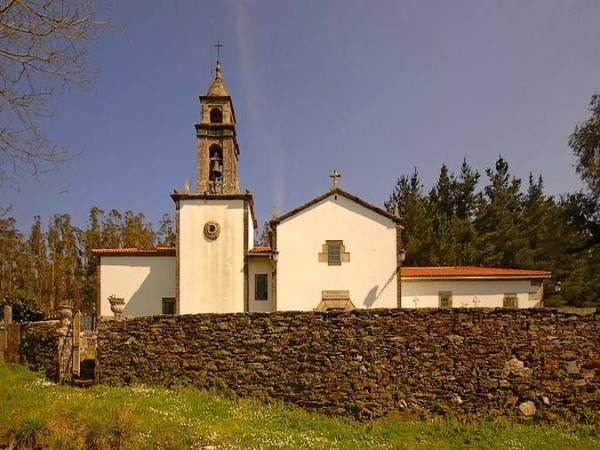 O Pino, puerta de acceso a Santiago de Compostela