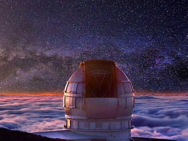 El Observatorio del Roque de los Muchachos, en La Palma