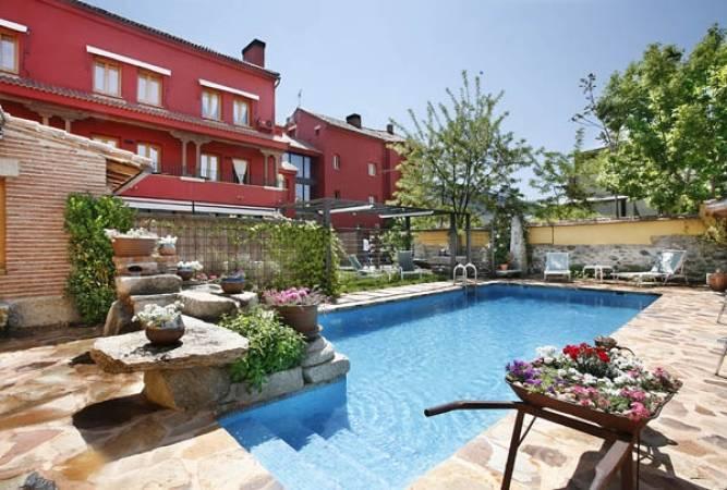 Hotel Rincón de Traspalacio, en Robledo de Chavela, Madrid