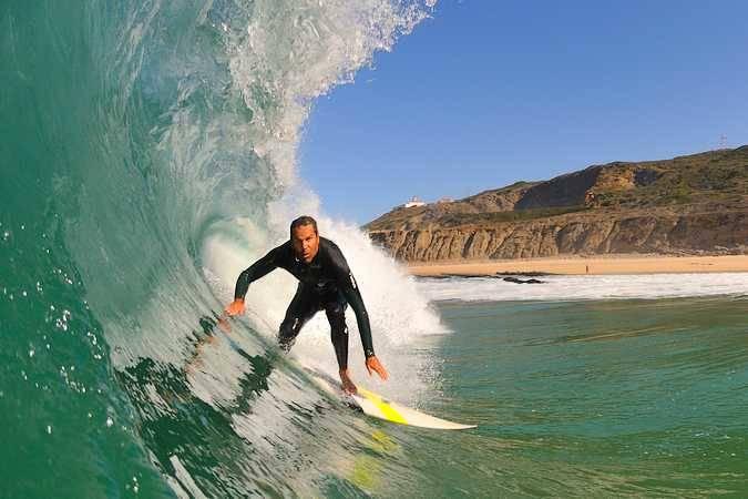 Figueira da Foz, paraíso del surf en Portugal