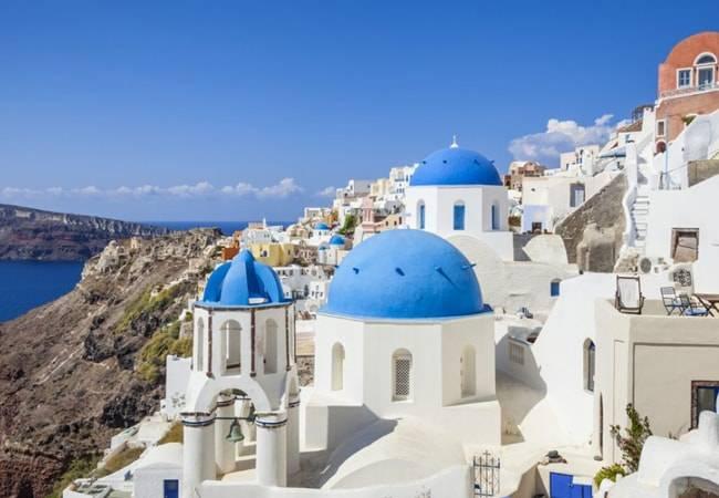 Oia, el atardecer más bonito del mundo en Santorini