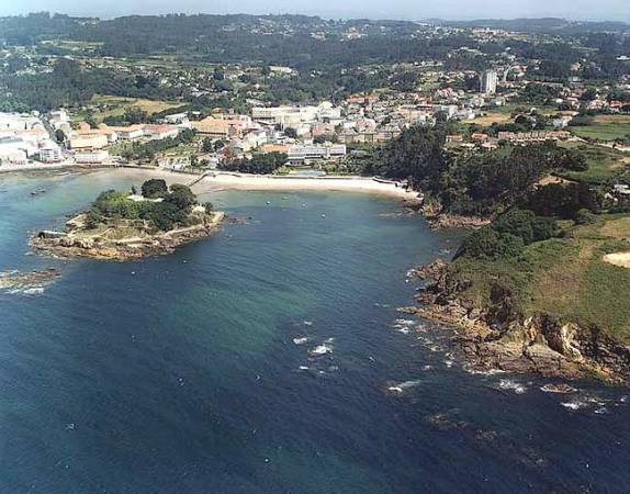 La localidad de Oleiros, en A Coruña, Galicia