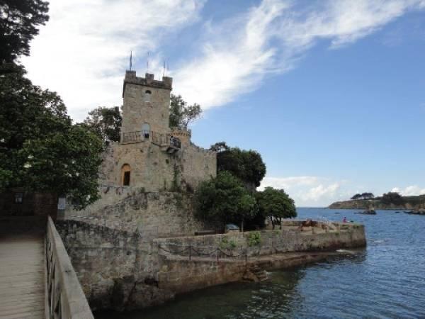 Castillo de Santa Cruz, en Oleiros, A Coruña