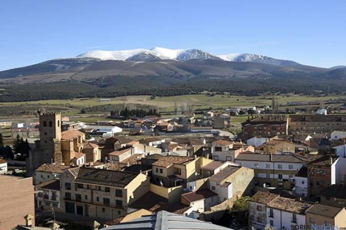 La localidad de Ólvega, en Soria