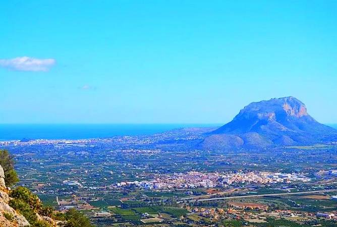 Panorámica de Ondara, en al Marina Alta de Alicante