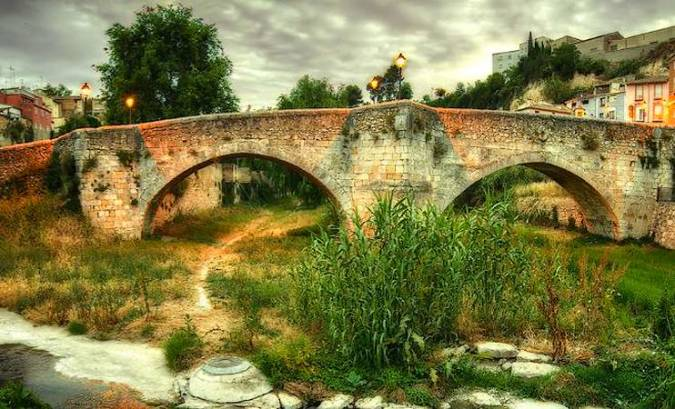 Pont Vell de Ontinyent, en Valencia