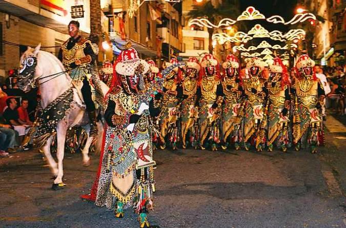Fiestas de Moros y Cristianos de Ontinyent, en Valencia