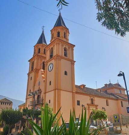 Iglesia de Nuestra Señora de la Expectación, en Órgiva, Granada