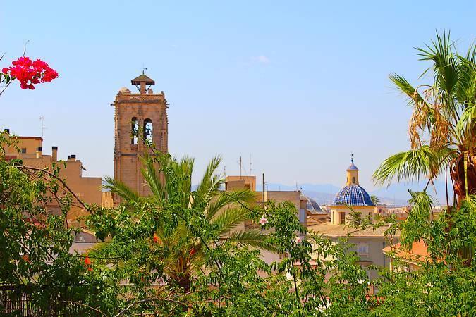 La localidad de Orihuela Pueblo, en Alicante