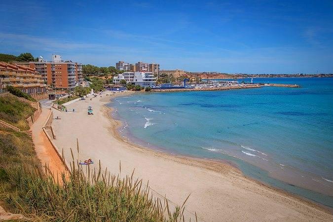 Playa Barranco Rubio, en Orihuela, Alicante