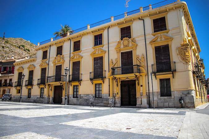 Palacio del Marqués de Rafal, en Orihuela, Alicante