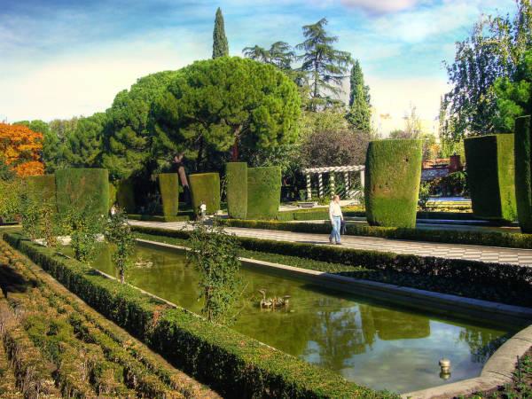 Jardines de Cecilio Rodríguez en otoño