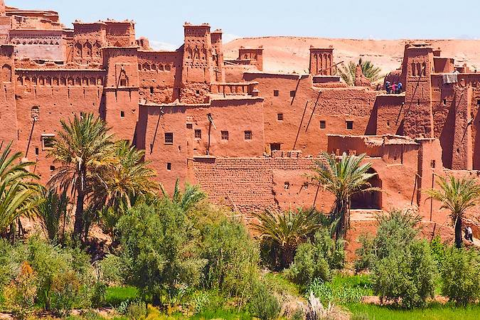 Fortaleza Ksar-Ben-Haddou, en Ouarzazate