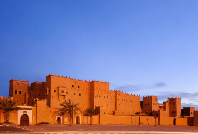 Kasbah Taourirt, en Ouarzazate, Marruecos