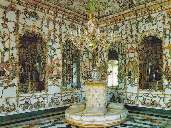 Salón de Porcelana del Palacio Real de Aranjuez