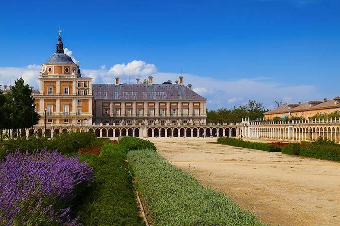 El Palacio de Aranjuez, en Madrid