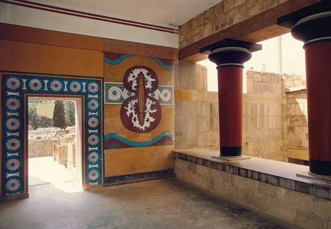 El laberinto del Minotauro en Creta