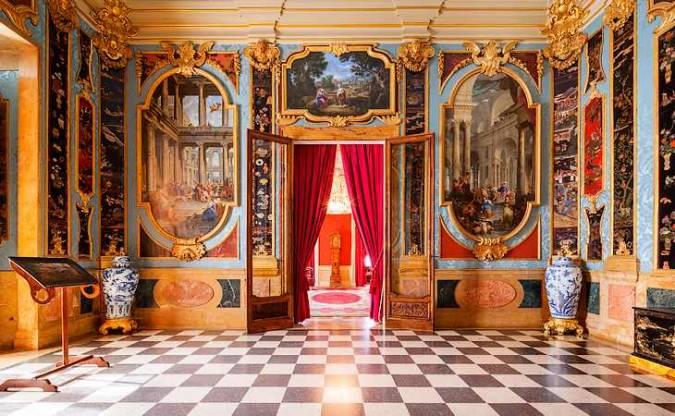 Interior del Palacio Real de La Granja de San Ildefonso