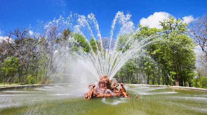Fuente del Real Palacio de La Granja de San Ildefonso