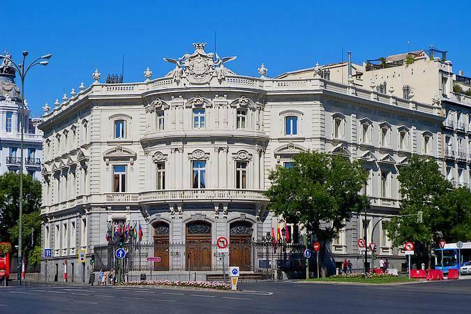 El Palacio de Linares, en Madrid