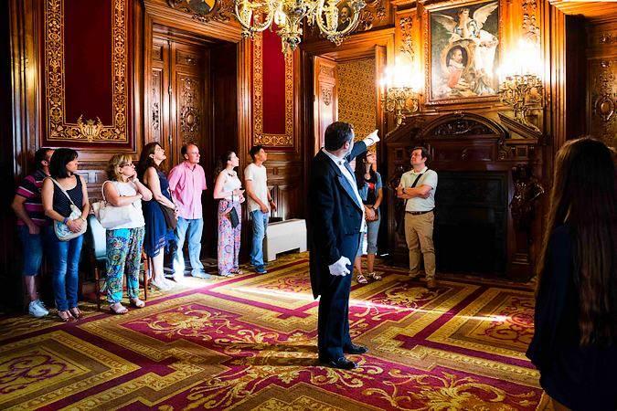 Visitas teatralizadas al Palacio de Linares, en Madrid