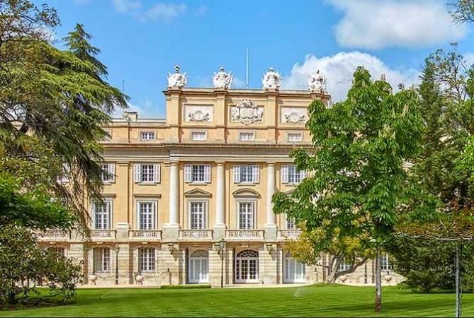 El majestuoso Palacio de Liria, en Madrid