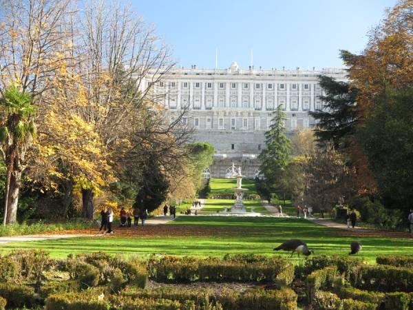 Jardines del Campo del Moro, en el Palacio Real de Madrid